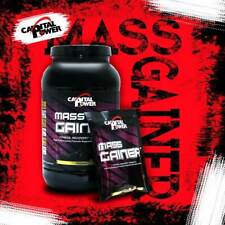 MASS Gainer Chocolate 3lb Mass Whey Protein Weight  fitness recovery strength