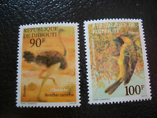 DJIBOUTI - timbre - yvert et tellier n° 463 464 nsg (A7) stamp