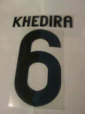 Khedira 6 Real Madrid 2012-2013 Football Shirt Name Set Adult Sporting ID