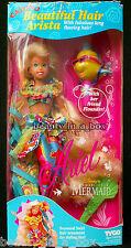 Calypso Beautiful Hair Arista Little Mermaid Tyco Disney Doll Ariel ~ Very Rare