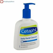 Cetaphil Daily Facial Cleanser For Normal To Oily Skin 8 OZ
