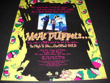 MEAT PUPPETS have been sitting in the little puddle for years 1994 PROMO AD mint