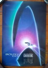 STAR TREK GENERATIONS original movie poster 1994 Paramount Pictures film