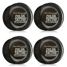 Lot of 4: NEW Maybelline Color Tattoo Leather 24 Hour in 85 Deep Forest (Sealed)