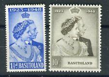Basutoland KGVI 1948 Royal Silver Wedding set SG36/7 MNH