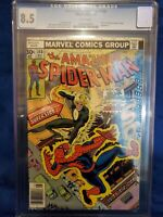 Amazing spiderman 168 cgc 8.5