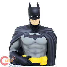 DC Comics Batman Bust Figure Coin Bank PVC Figurine Piggy Bank