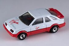 Matchbox Ford Sierra XR4i MB15 Fly Virgin Atlantic Macau Mint Loose 1987 Rare