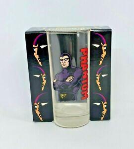 Vintage The Phantom Tall Drinking Glass Skansen 1995 RARE HTF Original Box #1