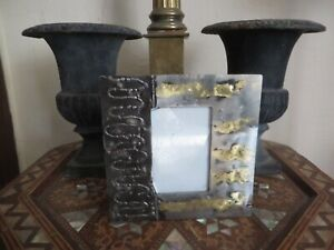 Whittle Design handmade metal quality Art Deco style photograph frame