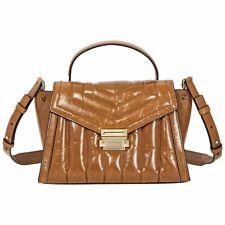 New NWT Michael Kors Whitney Large TH Satchel Leather Acorn