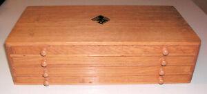 Flume Box für Unruhwellen, Uhrmacherschränkchen 30 x 16 x 8 cm L