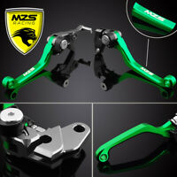 MZS Brake Clutch Short CNC Levers Compatible With Yamaha V-MAX 1700 2009-2018 Black