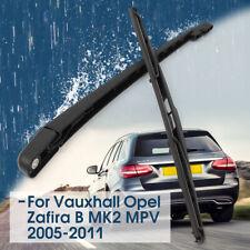Escobilla y Brazo de Limpiaparabrisas Trasera P/ Vauxhall Opel Zafira B MK 2 MPV