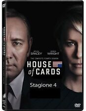 Dvd HOUSE OF CARDS  - Stagione 4 (Box 4 Dischi) ......NUOVO