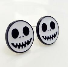 The Nightmare Before Christmas jack metal earring ear stud earrings