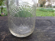 Dunlevy Dairy, Donora and Monongahela, Pa., Clear, Pint, Milk Bottle