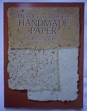 Dover Craft Books: Art and Craft of Handmade Paper by Vance Studley (2012, Paper
