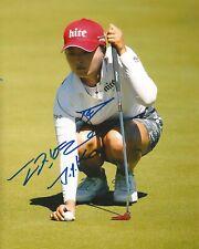 JIN YOUNG KO signed LPGA 8x10 photo with COA B