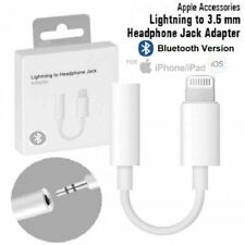 Bluetooth WIRED Lightning to Earphone Headphone Jack Adapter Dongle for iPhone