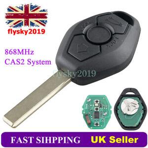 CAS2 868MHz Car Remote Key Fob For BMW 5 Series E60 E61 2003 2004 2005 2006 2007