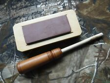 TURKEY CALL FRICTION CALL Red Long Slate Cherry Signed TYLERSBURG YELPERS