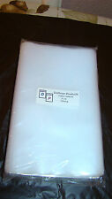 """100 Clear Plastic Outer Sleeves 5""""X8"""" Heavy-Duty 4 MIL CD's / DVD's"""