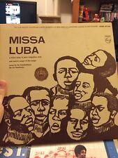 LES TROUBADOURS DU ROI BAUDOUIN: Missa Luba LP (Congolese, Vinyl)