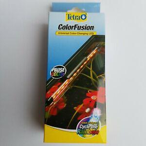 "LED Aquarium Light Tetra ColorFusion Fish Tank Universal Color Changing 6"" NEW"