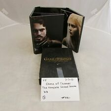 Game of Thrones the complete second season DVD box set 0707