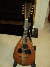 ~Vintage W&S Keystone Bowl-Back Mandolin Guitar Instrument Stringed And Antique