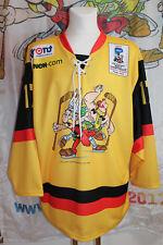 Eishockey WM 2017 Asterix und Obelix Trikot + Fahne - IIHF - Germany - Köln -