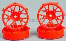 Tetsujin LYCORIS RC Car 1/10 Wheels RED Adjustable Offset 3-6-9mm -4 RIMS
