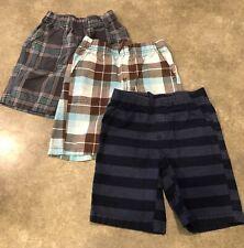 NWT Lot 3 Pairs Toddler Boy/'s Garanimals Pull On Elastic Waist Shorts Size 4T