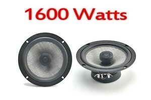 "6.5"" 17cm 2 way Audio car audio door shelf speakers pair 1600W FOR HONDA CRV"