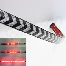 "Universal 23.6"" Red LED SUV Car Tail Light Strip Dynamic Indicator Brake Strobe"