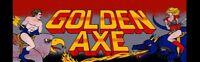 Golden Axe Arcade Marquee – 26″ x 8″