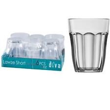 High Quality - Small Short Dinner Tumbler Drinking Glasses Bar Set