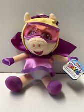 "NWT, Disney Junior Muppet Babies Super Fabulous Miss Piggy Plush 9"""
