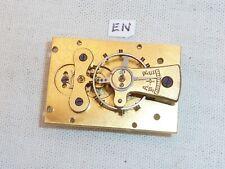 Swiss Buren Platform Escapement Working 34 x 23 Mantle Mantel Clock