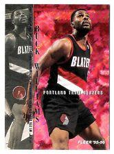 Buck Williams 1995-96 Fleer Portland Trail Blazers Insert Basketball Card