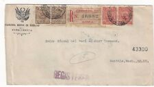 1916 Lima Peru Registered to Seattle WA, Mayor de Cuentas Official #O27, #O29