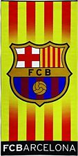 F.C. Barcelona Barça Beach Towel with official license.150x75cm 100% Cotton