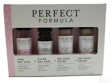 Perfect Formula Nail Essentials Collection - Gel Coat & Color NEW