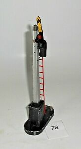 """Vintage Lionel OPERATING SEMAPHORE 9"""" tall all metal O 027 S Standard works 78"""