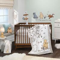 Lambs & Ivy Disney Baby Storytime Pooh 3-Piece Nursery Crib Bedding Set