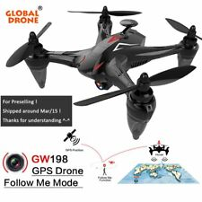 WIFI RC Quadcopter 5G Remote Drone W/ 720P Camera GPS FPV Brushless Control RTF