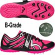 More Mile Mud Warrior Cross Country Spikes Pink Womens XC Running Shoes BGrade
