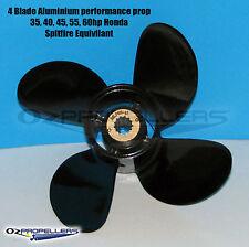 10 5/8 12 HONDA 4 Blade Propeller Aluminium 35-40-50-60HP Performance Prop