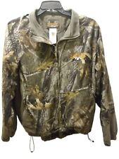 New listing Scent-Lok Full Season Men's Camo Jacket Fleece Lined Hunting Drawstring Size XL